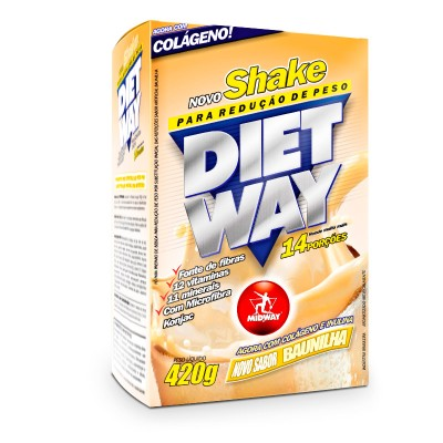 Diet Way 420gr Baunhilha