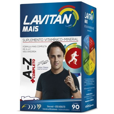 Lavitan A-z Mais C/ 90 Comp Cimed