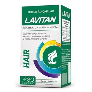 Lavitan Hair C/ 30 Comp Cimed
