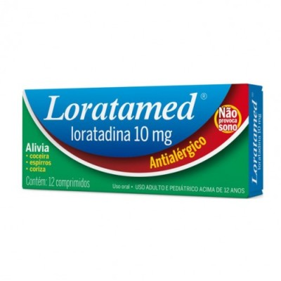 Loratamed 10mg C/12 Comp