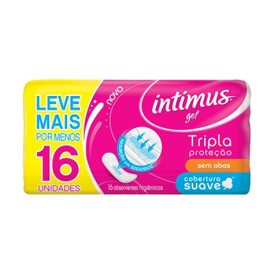 Abs Intimus Gel Nor S/a C/16 Suave